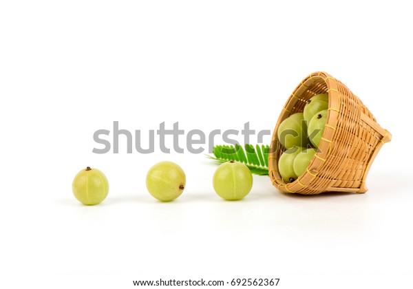 Indian Gooseberry, fruits medicinal properties.