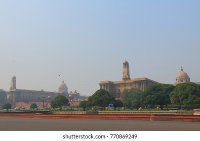 Indian government office complex in New Delhi India