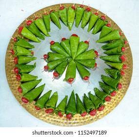 Indian Green Paan