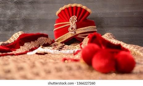 Indian groom safa