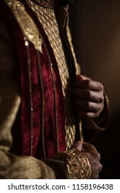 Indian groom's sherwani design