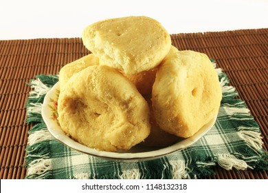 indian gujarati food Dahitra Puri khaja puri or fried biscuits sweet