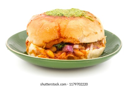 Indian Healthy Snack Food Dabeli.