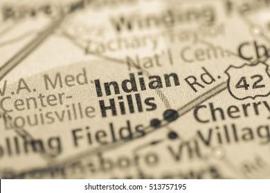 Indian Hills. Kentucky. USA