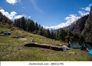Indian Himalayas. The Parvati Valley.