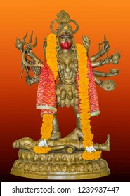 Indian hindi goddess Kali also known as the Dark Mother. goddess kali in Collection.