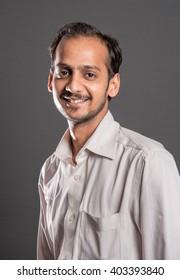Indian Hindu 26 year old young man portrait, Mumbai, Maharashtra, India, Southeast Asia