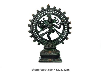 Indian hindu god Shiva Nataraja.