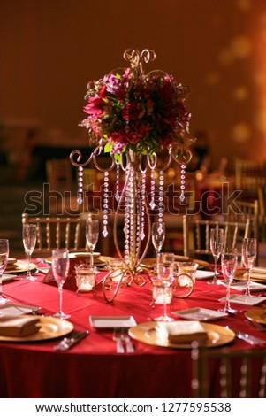 Indian Hindu Wedding Reception Decor Stockfoto Jetzt Bearbeiten