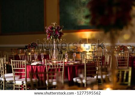 Indian Hindu Wedding Reception Decor Stock Photo Edit Now