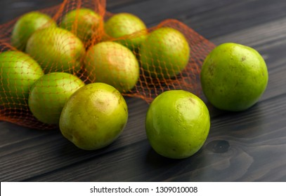indian jujube fruit on wooden background