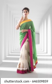 Indian lady in Saree