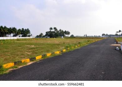 Indian land plotting site