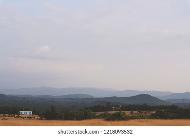 Indian landscape. Karnataka, Gokarna.