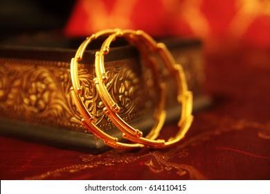 Indian Made Wedding gold bracelets