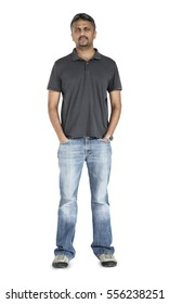 Indian Man Casual Standing