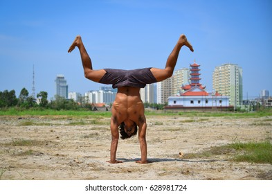 Indian Man Yoga Images Stock Photos Vectors Shutterstock