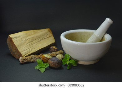 Indian medicine Ayurveda