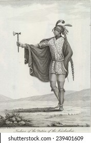 Indian of the nation of Kaskaskia, located west of the Mississippi River and one of the tribes of the Illinois confederation.