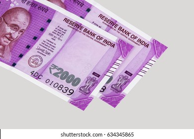 indian new 2000 note