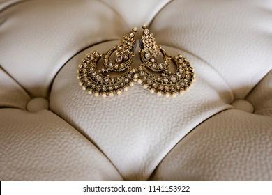 Indian Pakistani Beautiful Bridal jewelry Earings