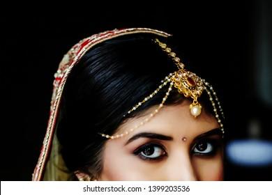Indian Model Wearing Jewellery Images Stock Photos Vectors
