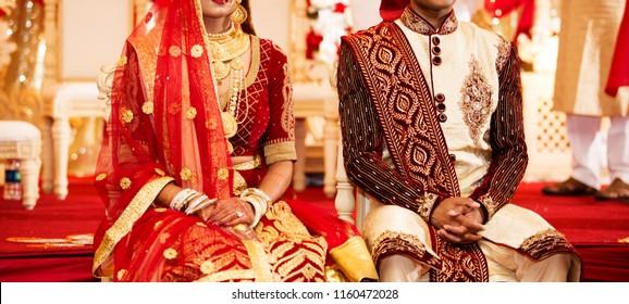 Indian Pakistani Newly Wed Couple