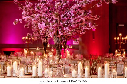 Indian Pakistani wedding hall decoration