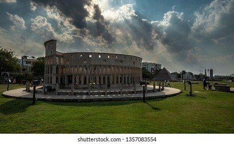 indian park of the seven wonders colosseum rajasthan kota