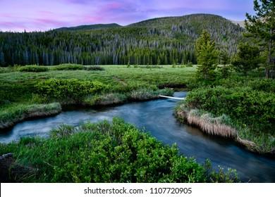 Indian Peaks Wilderness Area, near Winter Park, Colorado