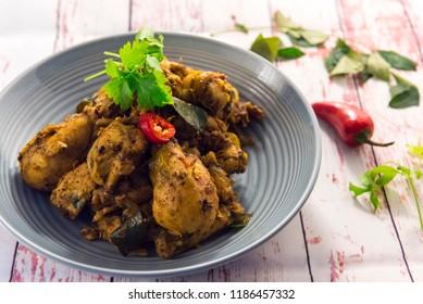 Indian Pepper Chicken Fry