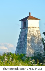 Indian Point Front Range Lighthouse in Evening Sun During Summer
