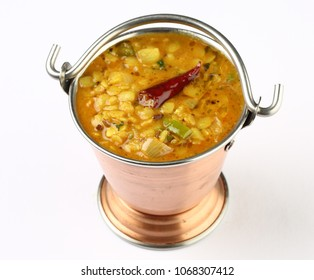 Indian popular food dal fry