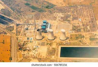 Indian powerplant seen from above