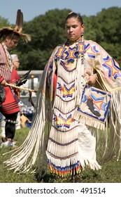Indian Princess, Minneapolis Pow Wow, August 14