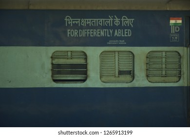 Indian railways, coach for differently abled people