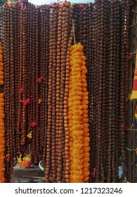 Indian Rudraksha beads for organic jewellery made from seeds of sacred tree. For yoga, meditation service.