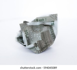 Indian rupees, Five hundred money background, financial concept of earnings.