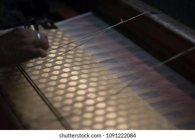 Indian Saree Making