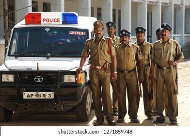 Indian Security Police 25th Nov 2018 Hyderabad India