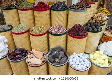 Indian spices in Dubai market