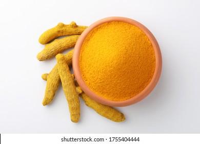 Indian spices, Turmeric powder or haldi powder
