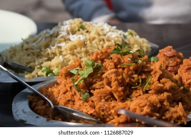Indian Street Food - Biriyani, Polau
