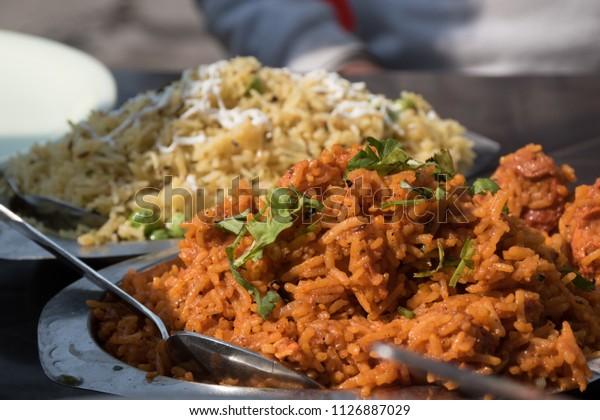 Indian Street Food - Biriyani, Polau