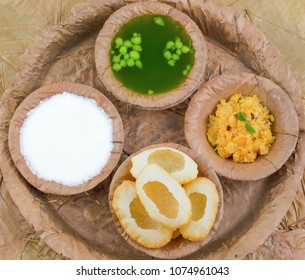 Indian Street Food Pani Puri Also Know as Golgappa or Golgappe is a Common Street Snack From India. It Consists of a Round, Hollow Puri Filled With a Mixture of Flavoured Water And Other Chat Items.
