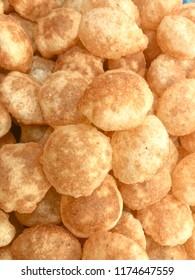 Indian street snack Paanipoori puchka golgappe