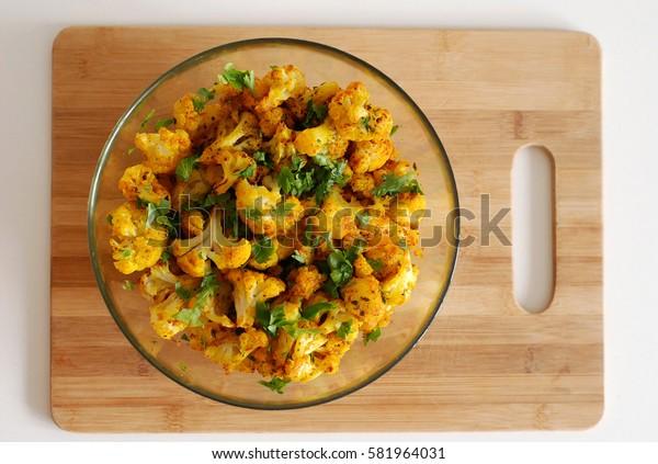 Indian style cauliflower