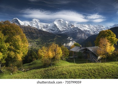 Indian summer in the Swiss Alps with Eiger, Mönch & Jungfrau