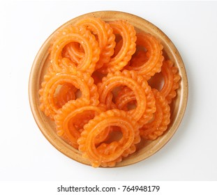 indian sweet jalebi or  imarti or imarati