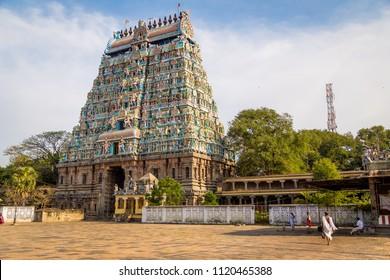 Indian temple door, South India